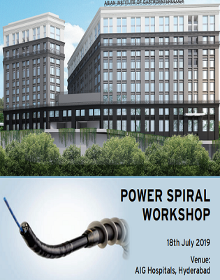 Power Spiral Enteroscopy Workshop