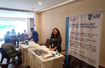 Cardiac awareness and health screening camp