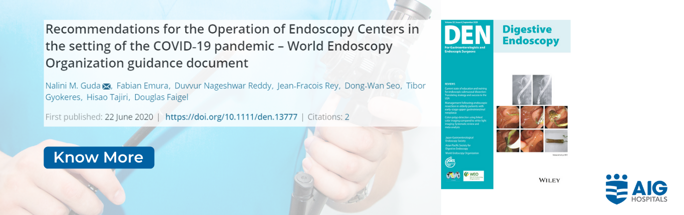 World Endoscopy Organization guidance document