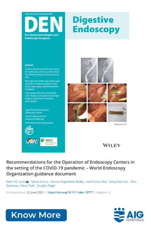 Recommendations for the Operation of Endoscopy Centers