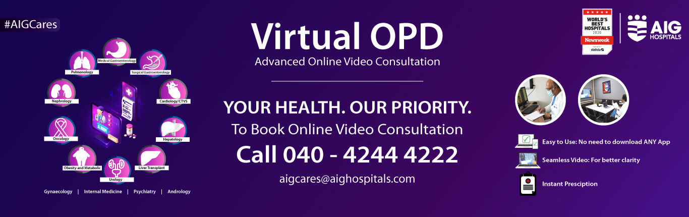 virtual OPD to book online Video Consultation